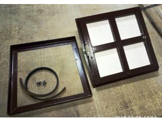 Напольные лючки под плитку с облегчённой съёмной створкой и замк